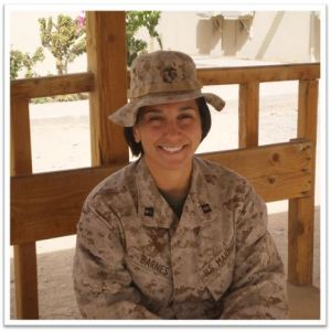 Capt Dina Poma-Barnes USMC