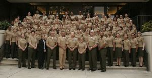 Active Duty Marines at the Joint Women's Leadership Symposium 2011