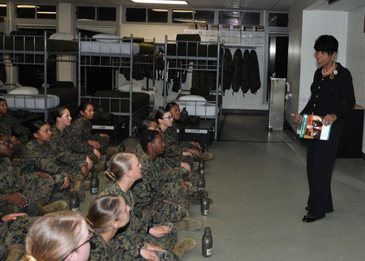 paris island women Marine corps recruit depot parris island  army aberdeen proving ground anniston army depot army in alaska brooke army medical center carlisle barracks.