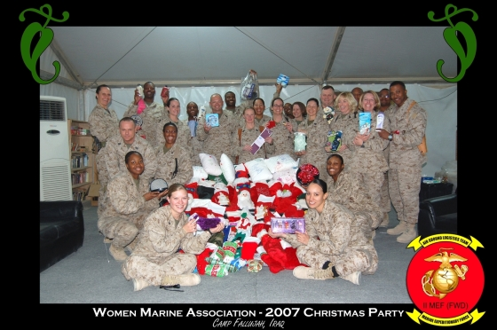 One of our first stockings programs. Over 3,000 stockings were sent to Afghanistan for our troops.