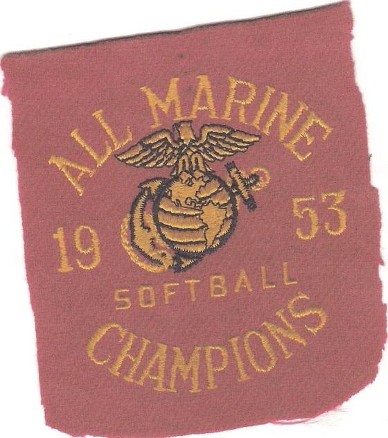 All Marine Softball Champions 1953