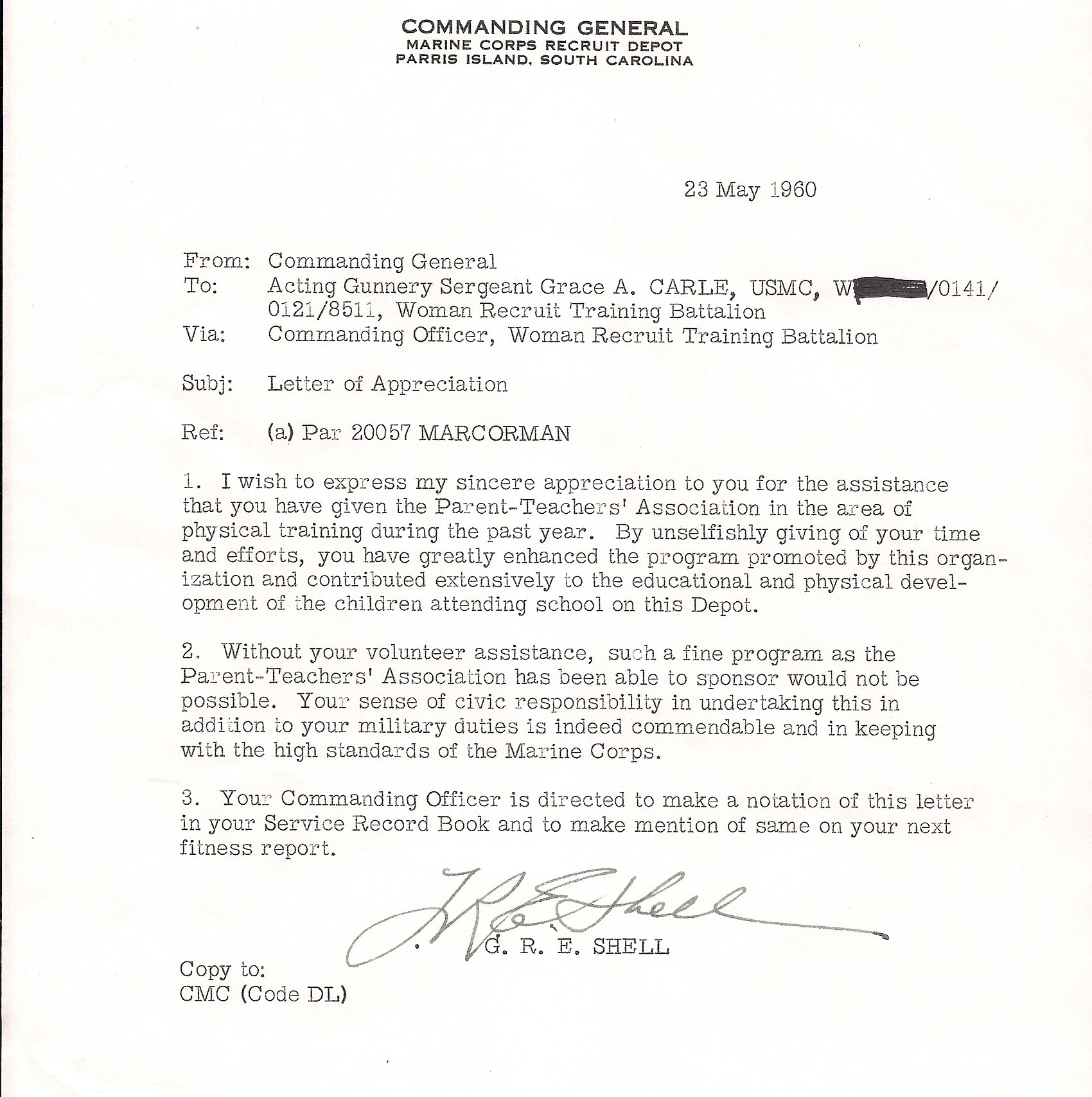 Sergeant major grace carle women marines association carle6 spiritdancerdesigns Image collections