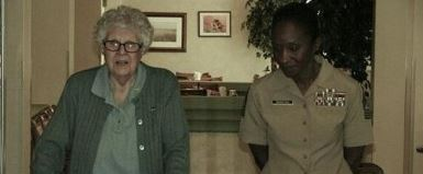 SgtsMajor Grace Carle and Jennifer Simmons