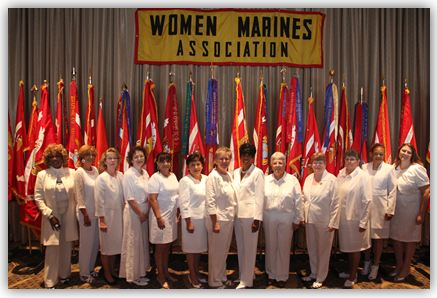 2012 -2014 Women Marines Association Board.
