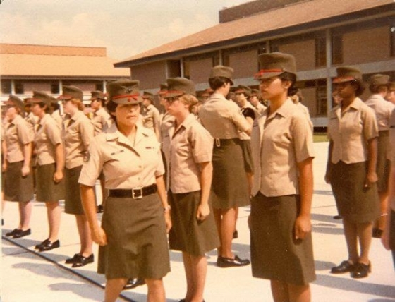 Drill Instructor SSgt Virgina Bueno  MCRD Parris Isalnd