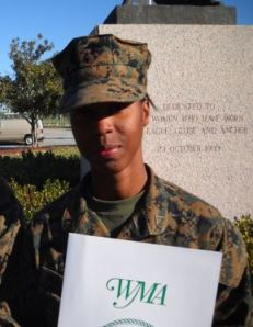 PFC Halrolina Williams, Plt 4039, Coral Springs, FL