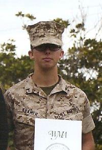 Molly marine Platoon 4010 PFC Anne T. Kramer