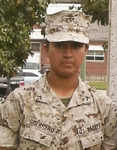 Private First Class Becky A. Guerrero