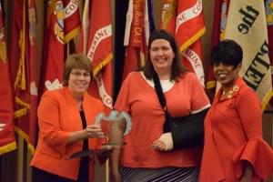 2016 National Service Award winner Erin Holvoet