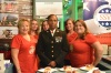 Women Marines Tackle the NY Jets